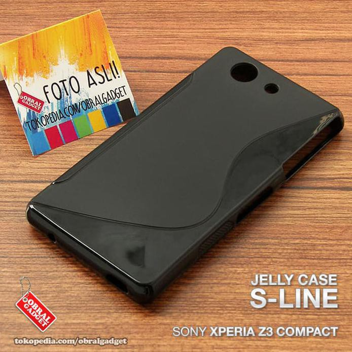 Soft Jelly Case Sony Xperia Z3 Compact Silicon Silikon Softcase Casing   Shopee Indonesia