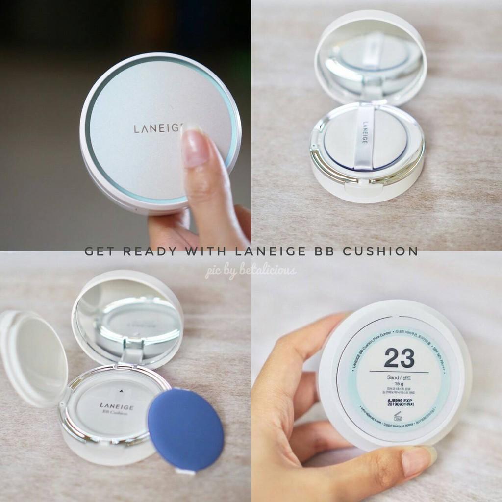 Paket Laneige Bb Cushion Pore Control Spf 50 Pa Set Case Fill A Refill Shopee Indonesia