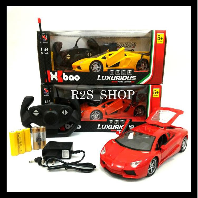 Lamborghini For Sale >> Big Sale Mobil Remote Control Lamborghini Aventador Scale 1 18