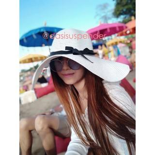 Topi Pantai Wanita   Topi Fashion Branded Termurah SeOnlineShop ... 74a7ffcb7d