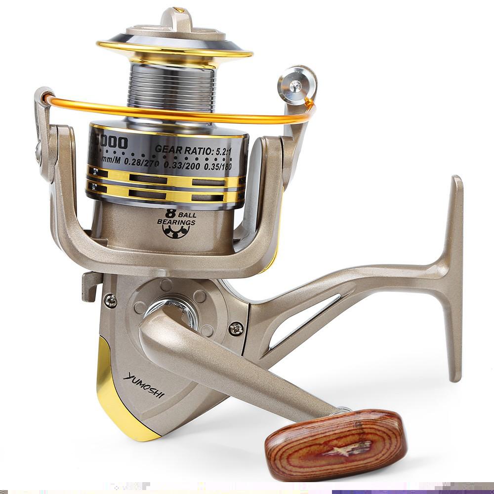 7000 Serie Sea Saltwater Wheel 12+1BB Bearing 4.7:1 Metal Spool Arm Fishing Reel