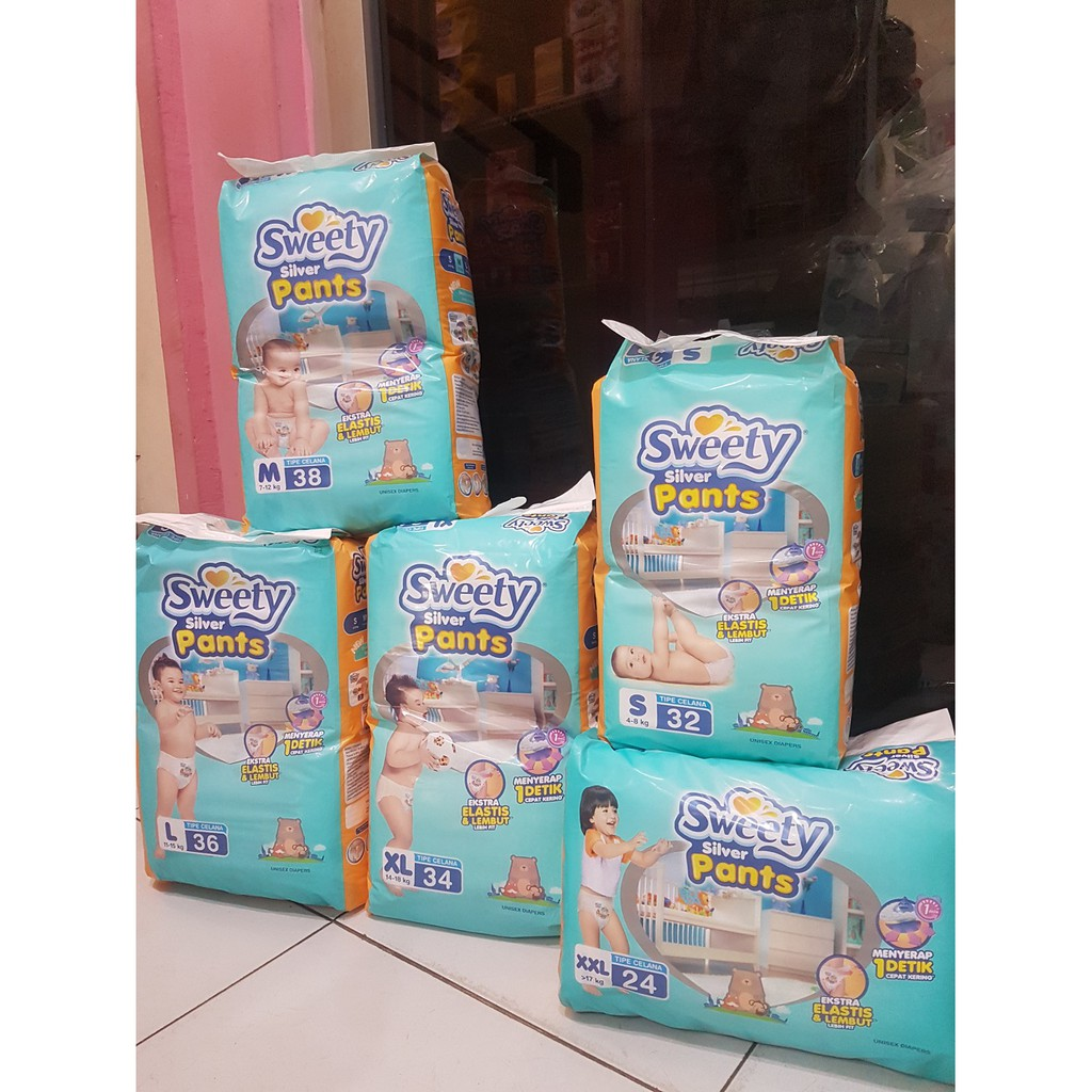 Popok Sweety Bronze Tape Diapers Perekat Nb S 44 M 40 L 36 Mamypoko Standar Pants Xl 38 Pulau Jawa Only Shopee Indonesia