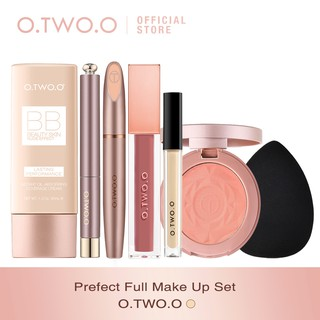 O.Two.O 7pcs set Brush Kosmetik Makeup Sempurna thumbnail