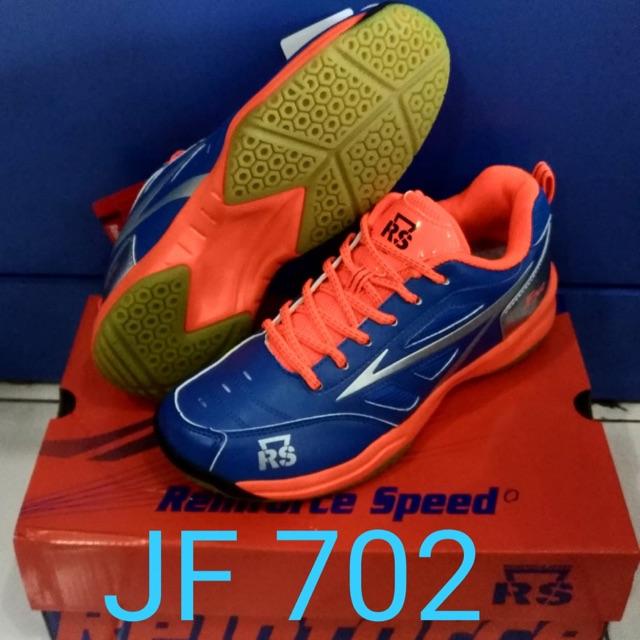Sepatu Badminton Rs Jeffer 702 / RS JF 702 Original