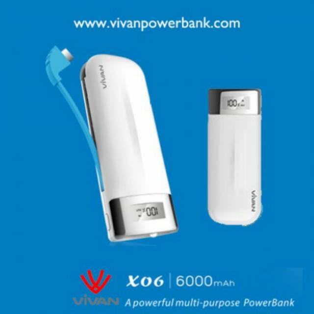 POWER BANK 6000mAh