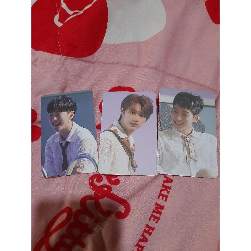 PhotoCard Benefit Wonwoo, Hoshi, Jun