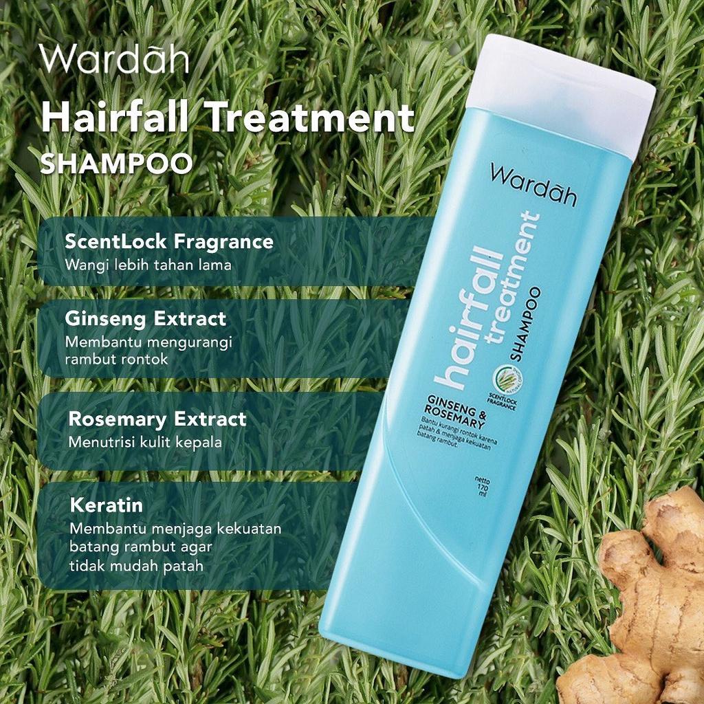 Wardah Shampoo 170ml-HAIRFALL