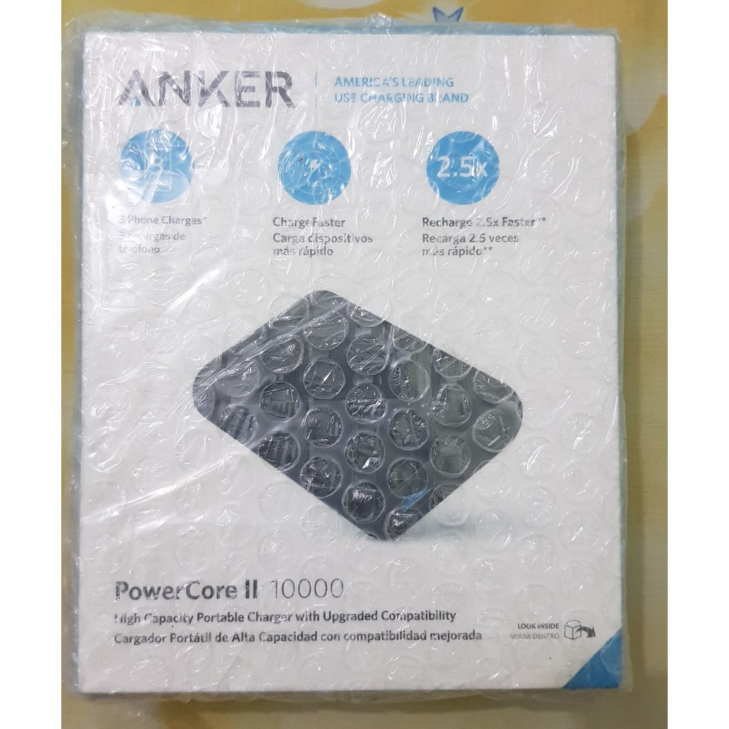 Anker Powercore Speed 6700mah Shopee Indonesia 10050 Mah Quick Charge 20 Premium Travel Pouch A1310012