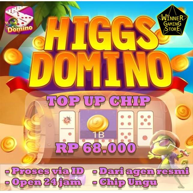 TOP UP CHIP HIGGS DOMINO MURAH - CHIP DOMINO HIGGS UNGU MD/UNGU - HIGGSDOMINO -  CHIPHIGGSDOMINO