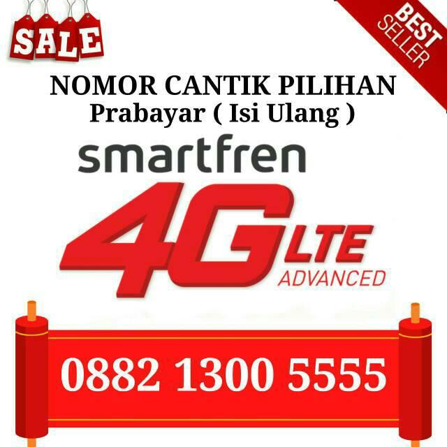 Nomor Cantik Smartfren Rf003 0882 1300 5555 Shopee Indonesia