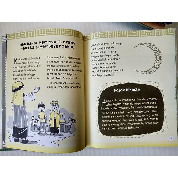 Buku 42 Kisah Pilihan Hadits Arbain Untuk Anak Pustaka Al