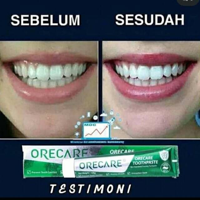Orecare Tiens Herbal Toothpaste
