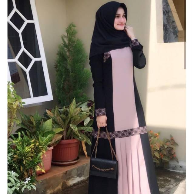 Syakira Abaya Javina Size S Shopee Indonesia