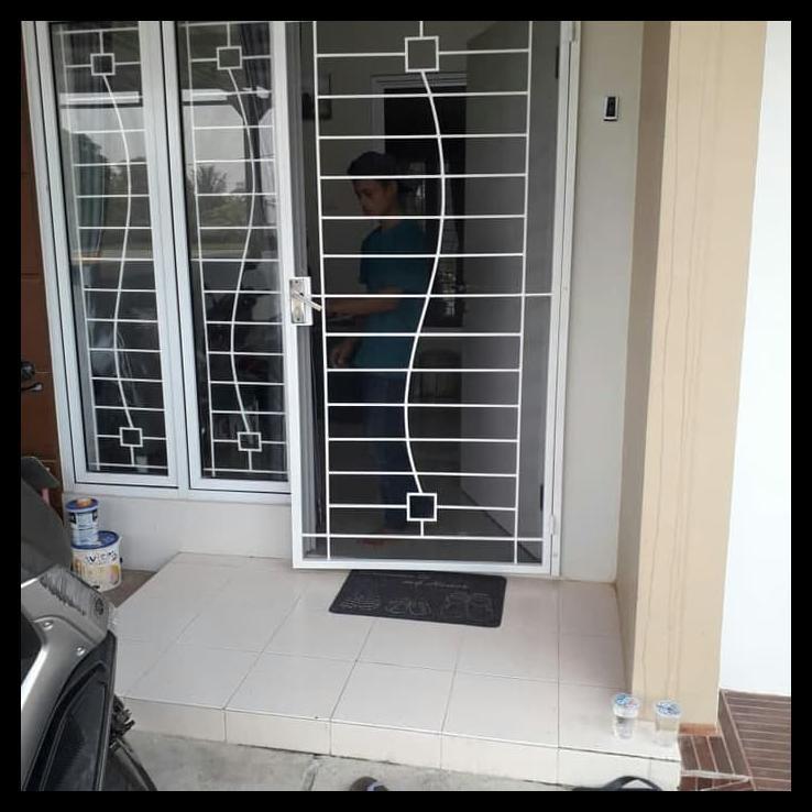 Pintu Kasa Nyamuk Tralis Jendela Shopee Indonesia