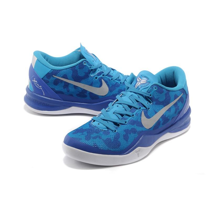 Sepatu Basket Nike Kobe 8 Blue Shopee Indonesia