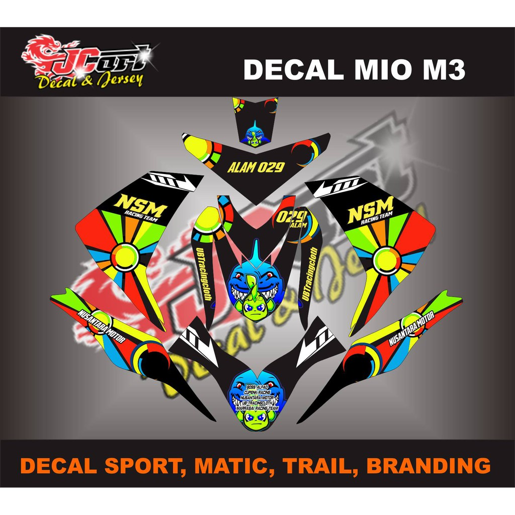 Decal mio sporty shopee indonesia