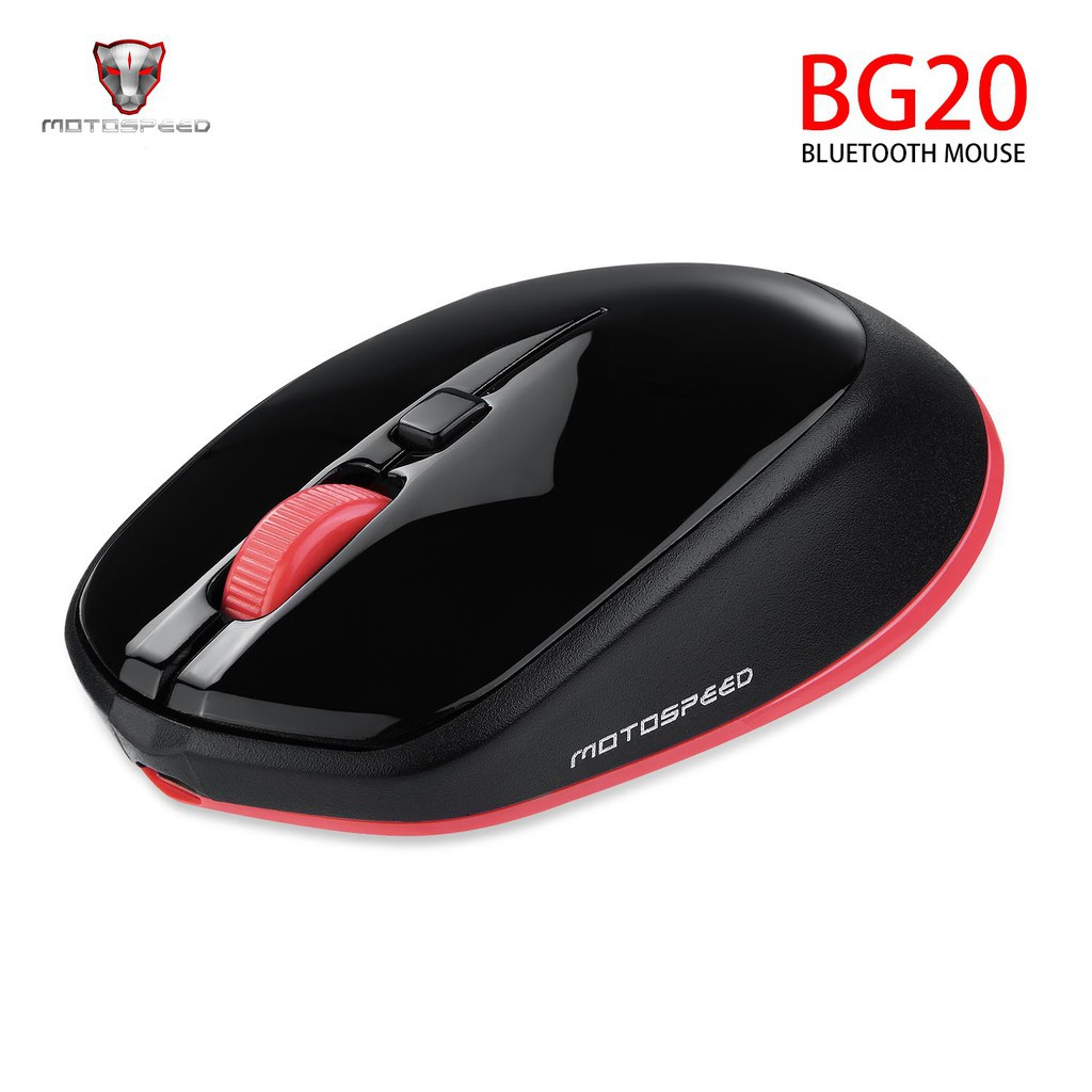 MOTOSPEED bg20 Mouse Wireless Bluetooth 2.4G Mini 2400DPI 5 Million 4000 FPS 10m | Shopee Indonesia