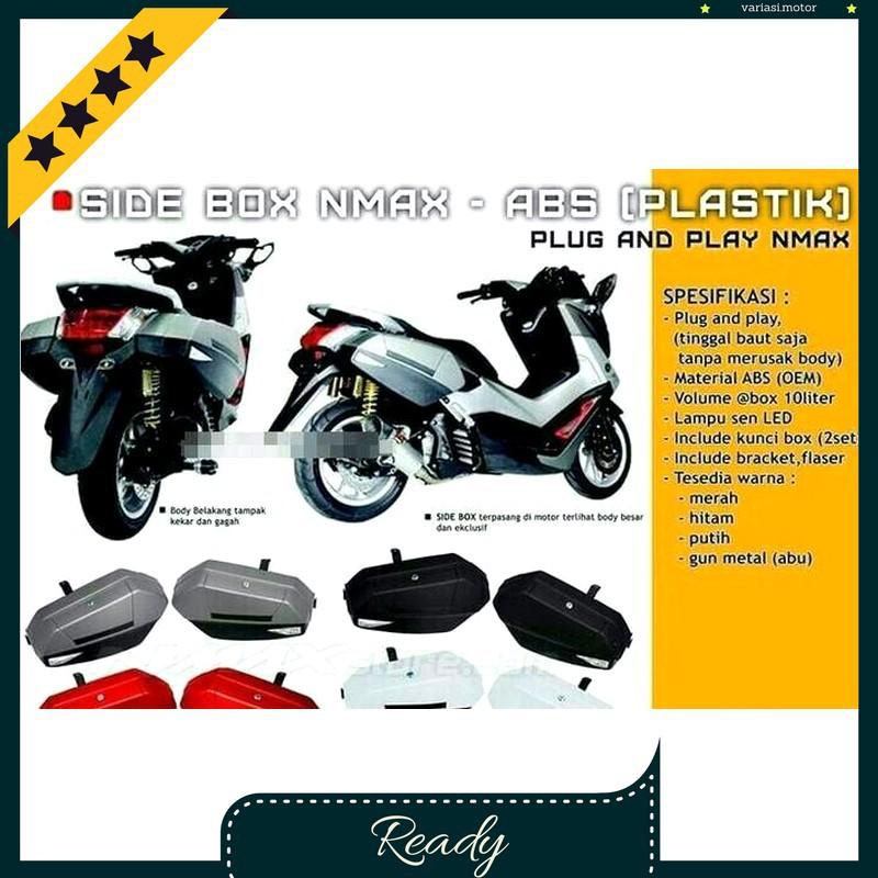 Tameng Yamaha Nmax + Spion Lampu Lipat + Windshield / Sparepart Motor Variasi Modifikasi Racing | Shopee Indonesia