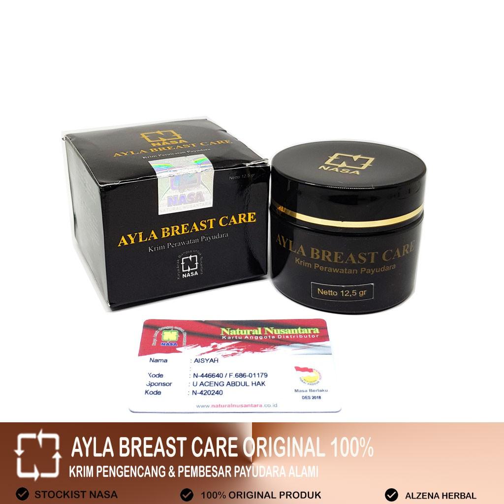 Pengencang Payudara Pembesar Payudara Ayla Breast Care Asli Nasa Shopee Indonesia