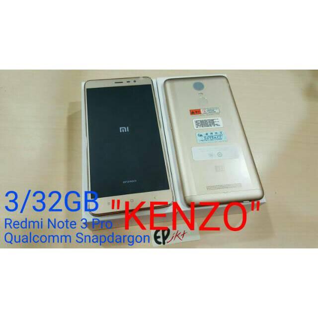 XIAOMI REDMI NOTE 3 PRO RAM 3GB ROM 32GB QUALLCOM SNAPDRAGON ...