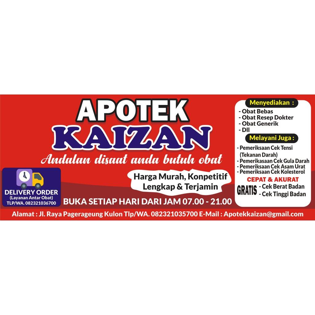 Spanduk Apotek Dan Toko Obat Spanduk Custom Shopee Indonesia