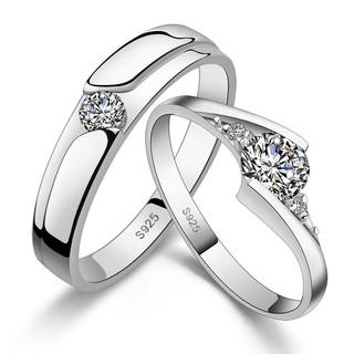 Cincin Couple VEGA STAR Silver 925 Gold Coated Cincin Tunangan Cincin Pernikahan Perak Xuping