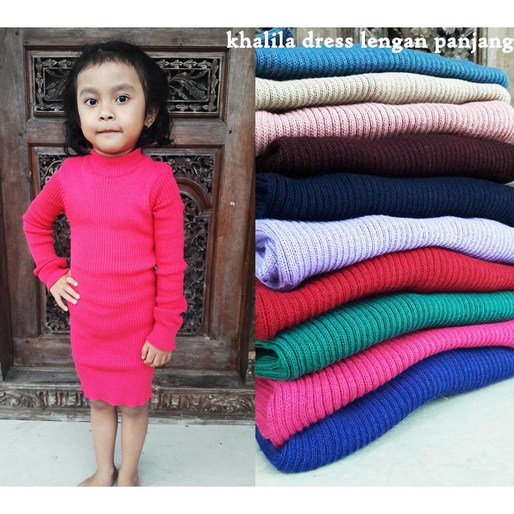 Adila Midi Dress   Dress Adila Tangan Pendek   Dress Anak murah   Dress  rajut anak   Grosir dress  ec35a5f261