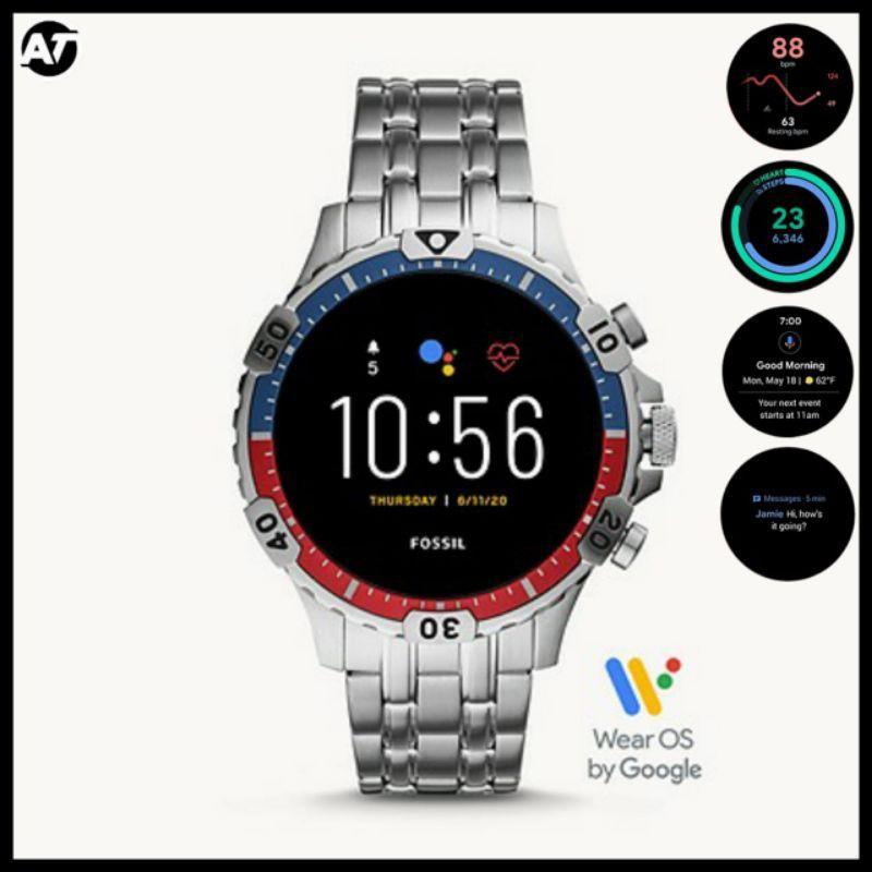 Smartwatch Fossil Pria - Fossil FTW4040 Smartwatch ORIGINAL Garansi Resmi