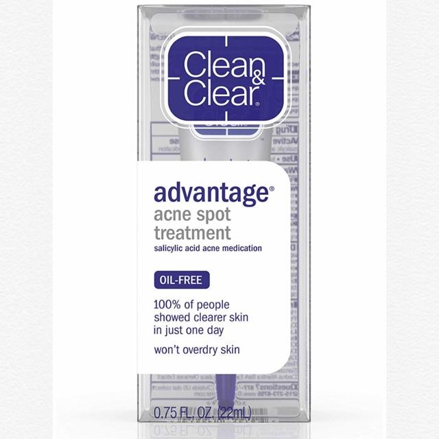 clean clear advantage acne spot treatment