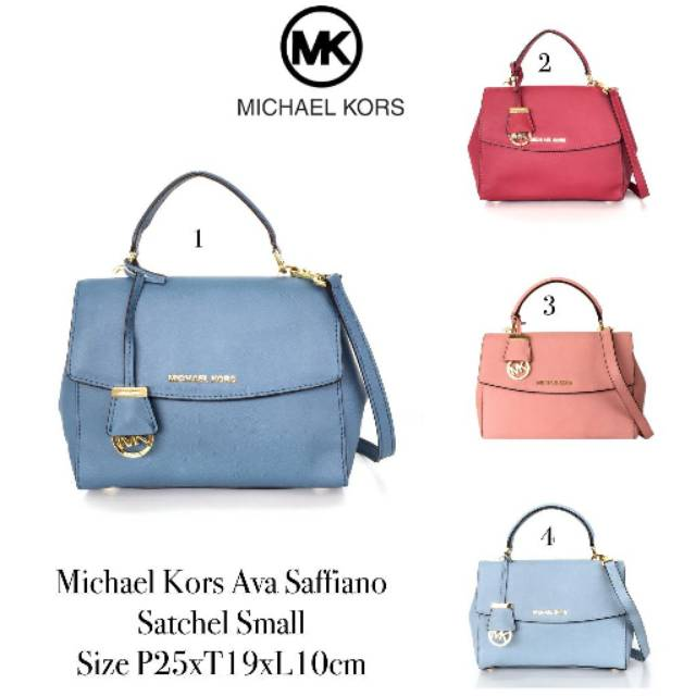 b532f257cbb749 Tas Michael Kors Mercer Large Satchel Luggage | Shopee Indonesia