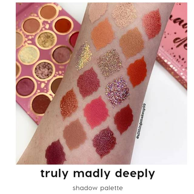 Colourpop Brunch Date , Truly Madly Deeply eyeshadow palette ...