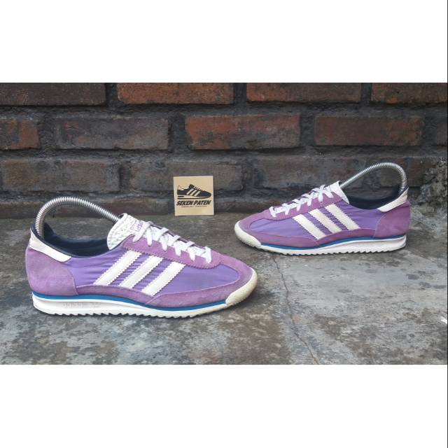 Colonial exposición soporte  Adidas SL72 Purple   Shopee Indonesia