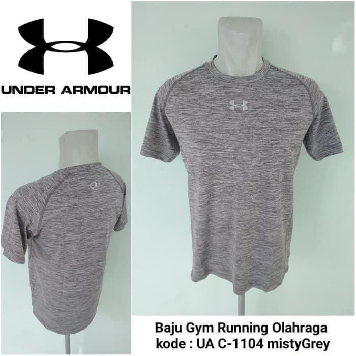 Baju Olahraga Under Armour UA C-1104 Baselayer Baju Lari Kaos Olahraga Gym  Impor  a290552e29