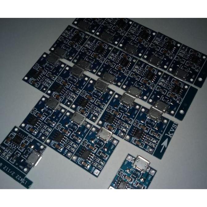 Kit TP4056 Modul Charger USB Mini 1A 5V 5 Volt A60 RTRAVO2 Juara
