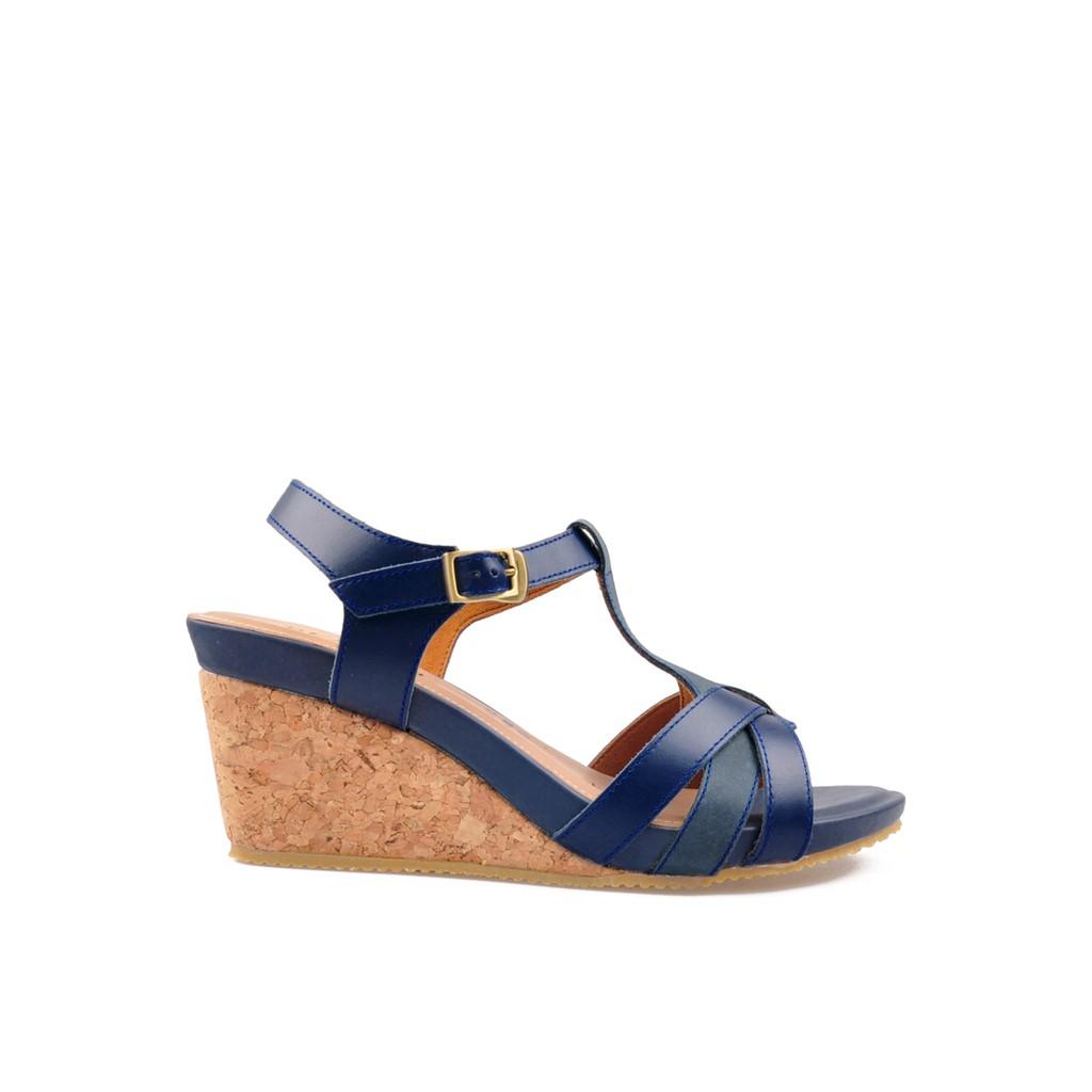Candice Sandals Navy Coklat Shopee Indonesia Dr Kevin Women Flats Sandal 27372 Brown Cokelat 37