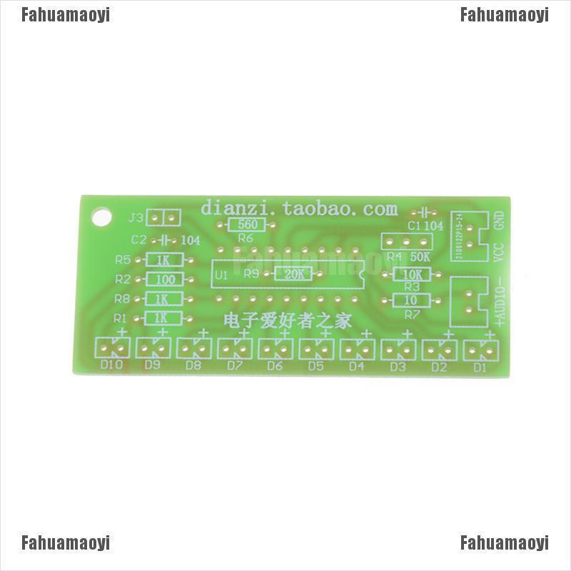 2pcs LM3915 10 segment audio level indicator DIY kit