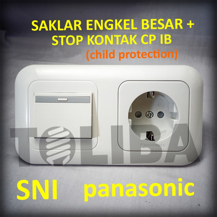 Saklar Engkel Besar Stop Kontak Stopkontak Cp Inbow Ib Panasonic Sni Shopee Indonesia