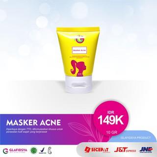 Masker wajah Acne Glafidsya skincare kosmetik thumbnail