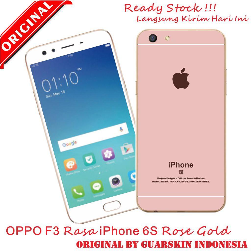 buy popular f1707 16a66 Premium Skin Garskin Oppo F3 F3 Plus Rasa Iphone 6 6S Ready Stock
