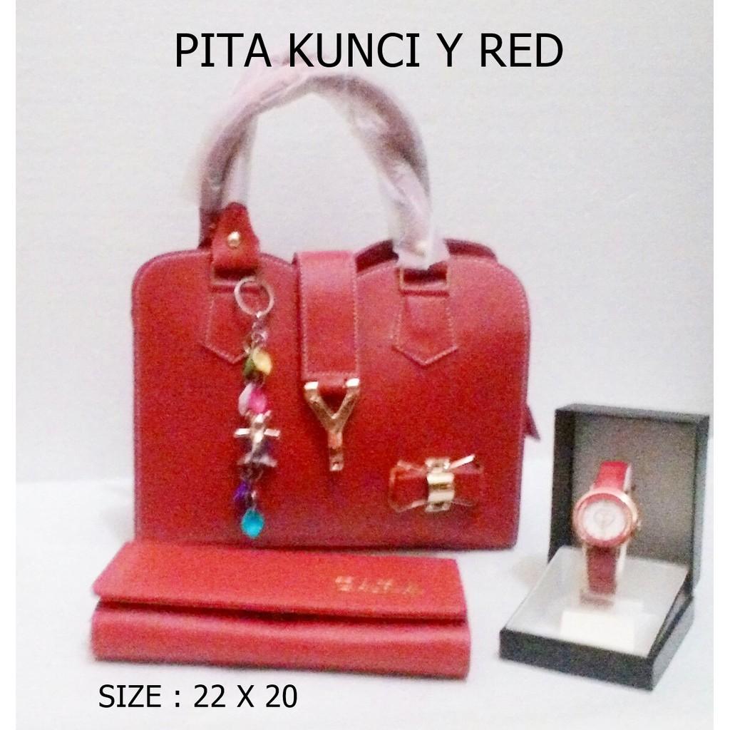 PITA KUNCI Y / TAS PAKETAN / PAKET / LOKAL / HANDBAG / SELEMPANG / SLINGBAG / WANITA | Shopee Indonesia