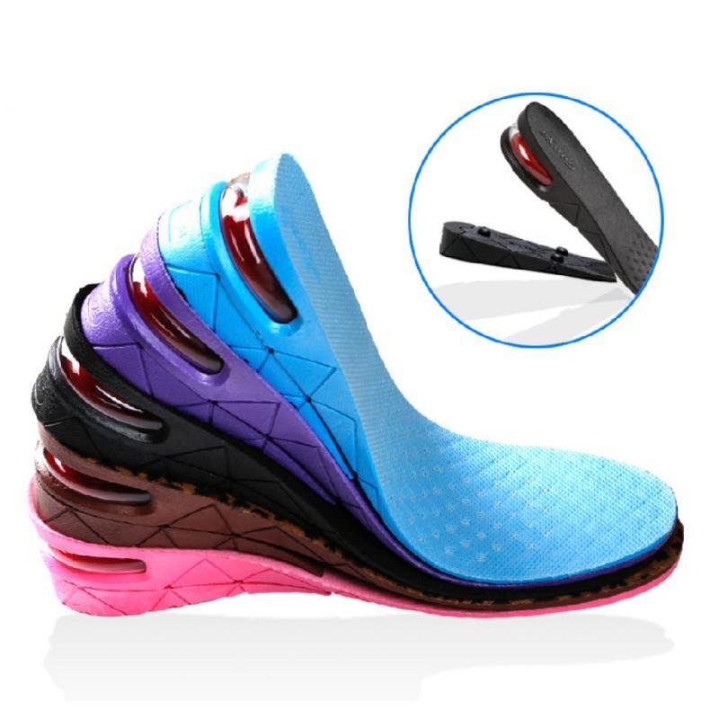 Sol Sepatu Penambah Peninggi Tinggi Badan Insole 2 / 3 / 4 Layer Pria Wanita 4