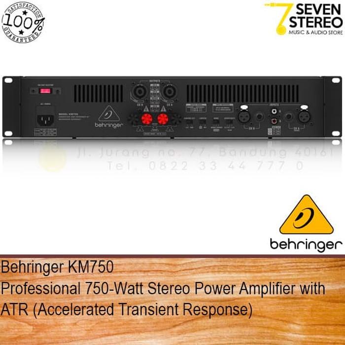 PERALATAN MUSIK Behringer KM750 Power Amplifier 750 Watt