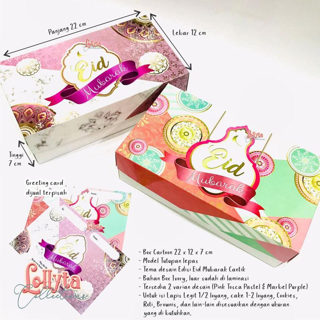 Box Cartoon Uk 22 X 12 X 7 Cm 1 2 Loyang Edisi Eid Mubarak Shopee Indonesia