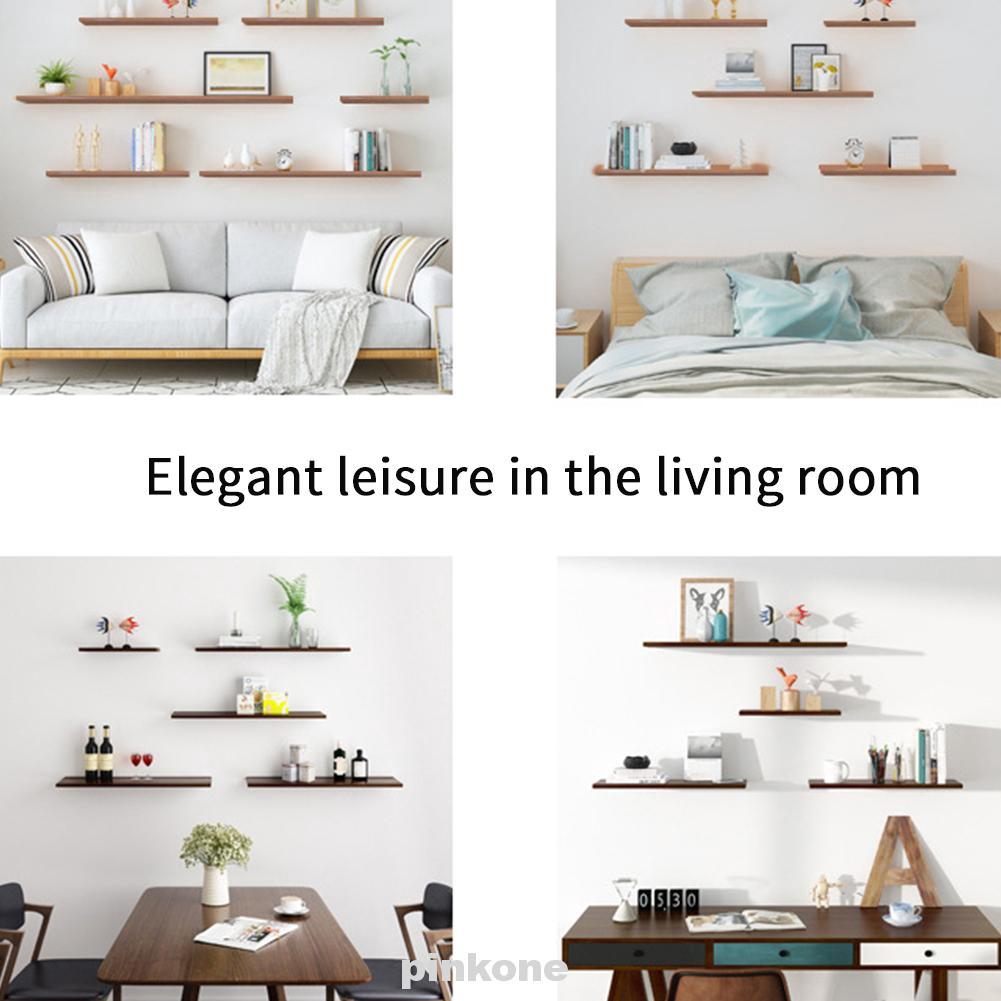 Books Storage Living Room Mount Home Decoration Wall Shelf Shopee Indonesia