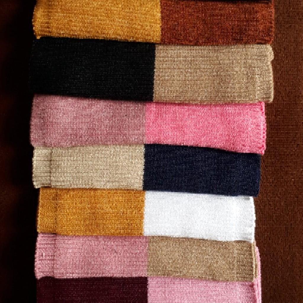 bandana dua warna / ciput bandana two tune / termurah