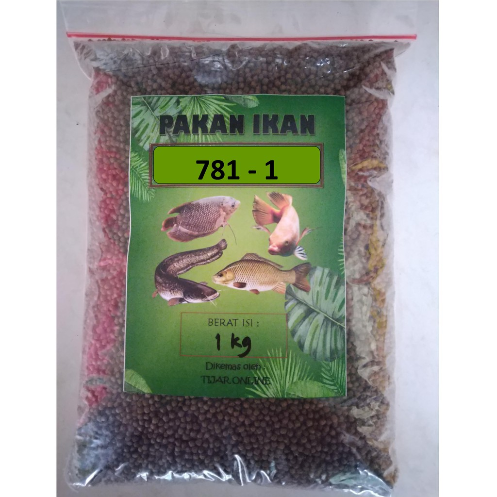 Pakan Ikan Bibit Pelet Apung Hi Pro Vite 781 1 Repack Isi 1kg Shopee Indonesia