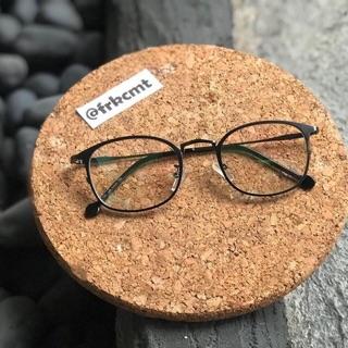 Frame kacamata lensa anti radiasi (frame+lensa minus plus) bg 1307 oval e477210388