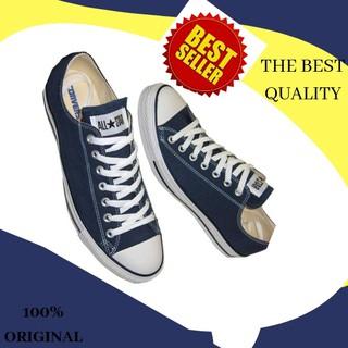 6700801e0c55 Sepatu Casual Harian Sekolah Kuliah Converse Allstar CT Mono Full White  Putih Low Pria Wanita Couple