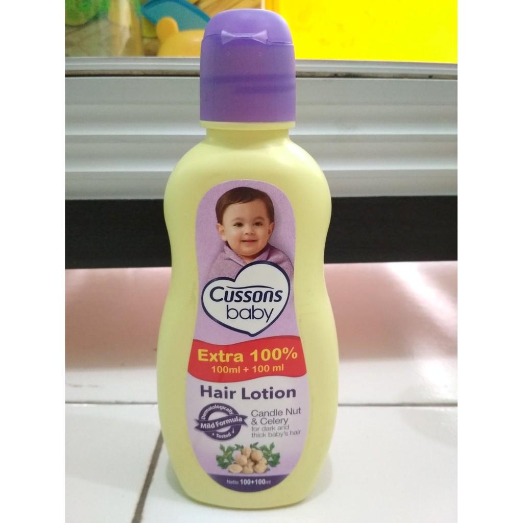 Cussons Baby Hair Lotion 100 100ml Shopee Indonesia Avocado Pro Vit B5