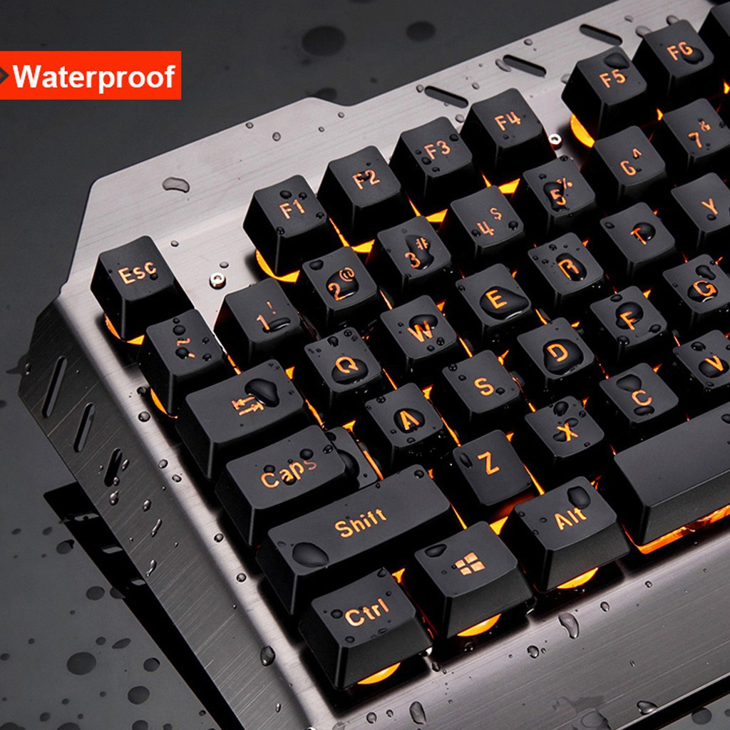 M938 LED Backlit Usb Ergonomic Gaming Keyboard Gamer Mouse Sets Mouse Pad